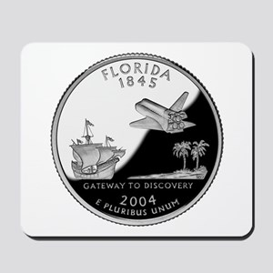 Florida Quarter Mousepad