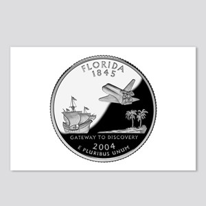 Florida Quarter Postcards (Package of 8)