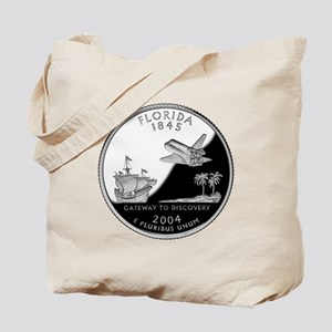 Florida Quarter Tote Bag