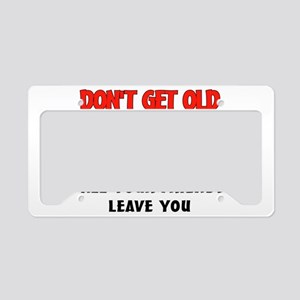 OLD PEOPLE License Plate Holder