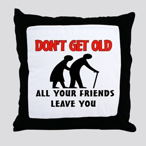 OLD PEOPLE Throw Pillow