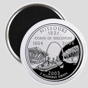 Missouri Quarter Magnet
