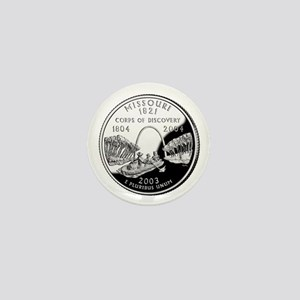 Missouri Quarter Mini Button