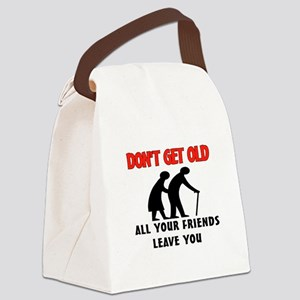 OLD PEOPLE Canvas Lunch Bag
