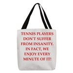 tennis Polyester Tote Bag