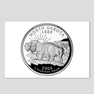 North Dakota Quarter Postcards (Package of 8)