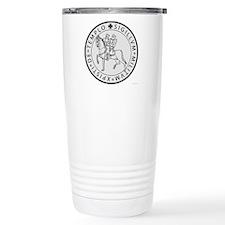Templar Seal Stainless Steel Travel Mug