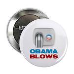 "Obama Blows 2.25"" Button"