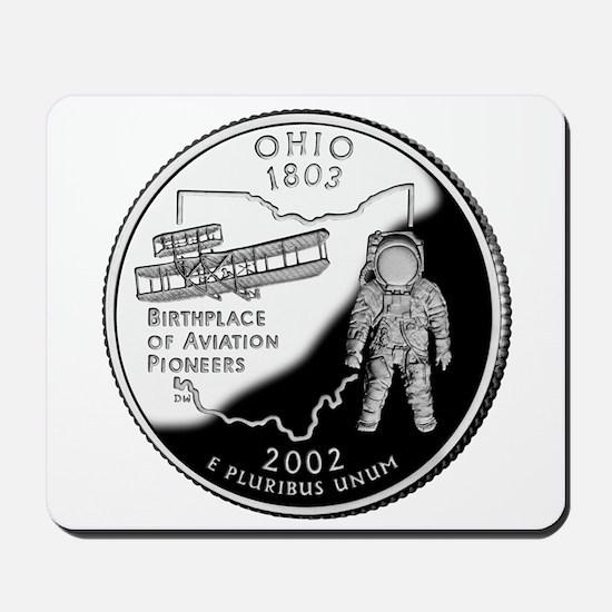 Ohio Quarter Mousepad