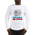 Obama Blows Long Sleeve T-Shirt