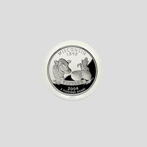 Wisconsin Quarter Mini Button