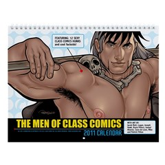 The Men of Class Comics 2011 Calendar