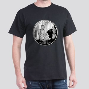 Alabama Quarter Dark T-Shirt
