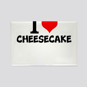 I Love Cheesecake Magnets