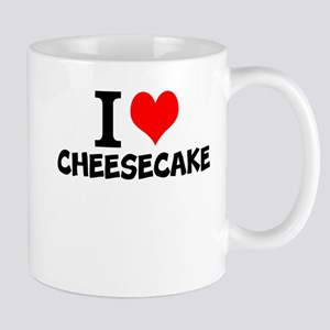 I Love Cheesecake Mugs