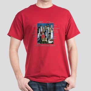 Lighthouses of Lake Superior Dark T-Shirt