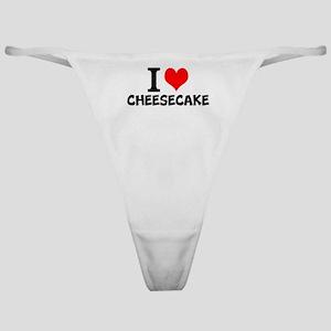 I Love Cheesecake Classic Thong