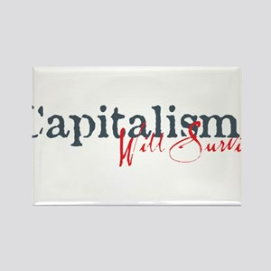 Capitalism Will Survive Rectangle Magnet