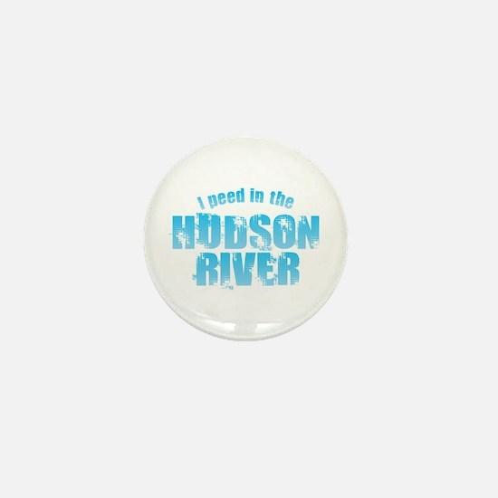 I Peed in the Hudson River Mini Button
