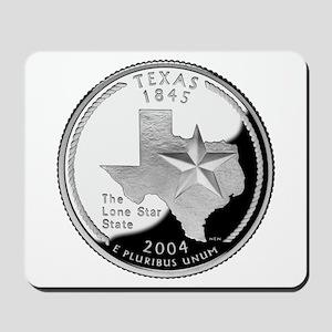 Texas Quarter Mousepad