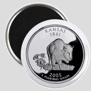 Kansas Quarter Magnet