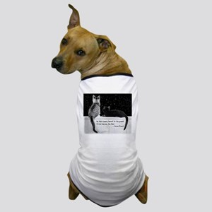 """""""I can now see the Moon"""" Dog T-Shirt"""