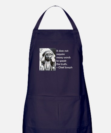 Truth Quote Apron (dark)