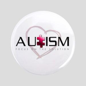 """Autism 1 3.5"""" Button"""