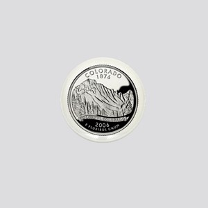 Colorado Quarter Mini Button