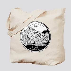 Colorado Quarter Tote Bag