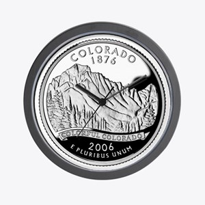 Colorado Quarter Wall Clock