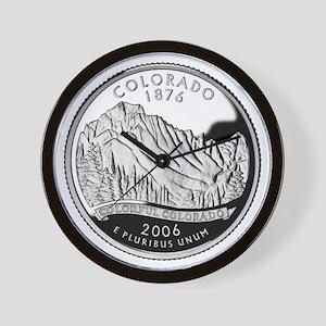 Colorado Quarter Wall Clock