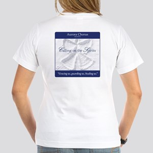 Calling on the Spirits Women's V-Neck T-Shirt