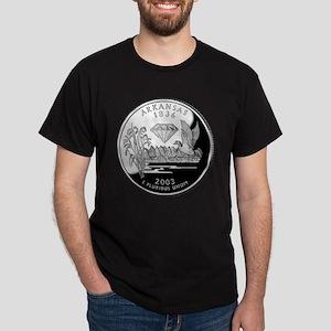 Arkansas Quarter Dark T-Shirt