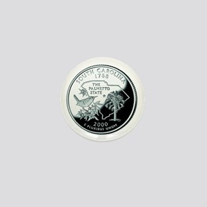 South Carolina Quarter Mini Button