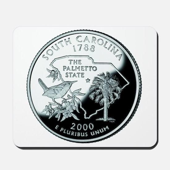 South Carolina Quarter Mousepad