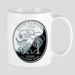 South Carolina Quarter Mug