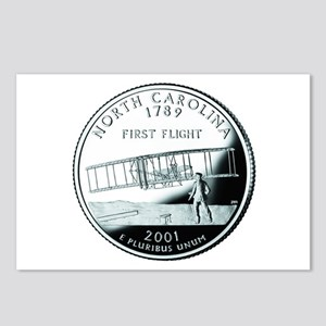 North Carolina Quarter Postcards (Package of 8)