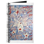 Stars and Stripes Angel Journal