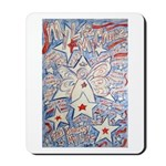 Stars and Stripes Angel Mousepad