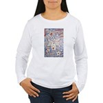 Stars and Stripes Angel Women's Long Sleeve T-Shir