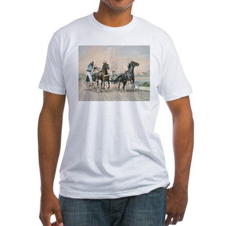 INQUIRY Fitted T-Shirt
