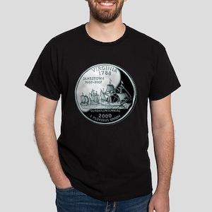 Virginia Quarter Dark T-Shirt