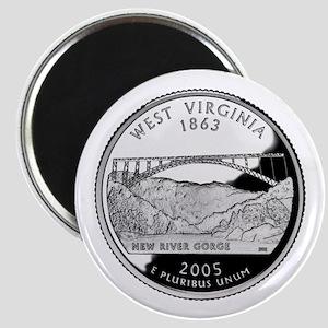 West Virginia Quarter Magnet