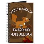 Crazy Squirrel Journal