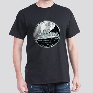 New Jersey Quarter Dark T-Shirt