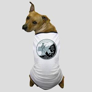 Massachusetts Quarter Dog T-Shirt