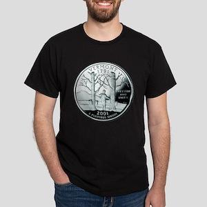 Vermont Quarter Dark T-Shirt