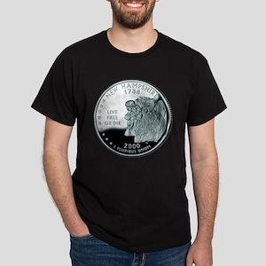 New Hampshire Quarter Dark T-Shirt