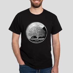 Connecticut Quarter Dark T-Shirt